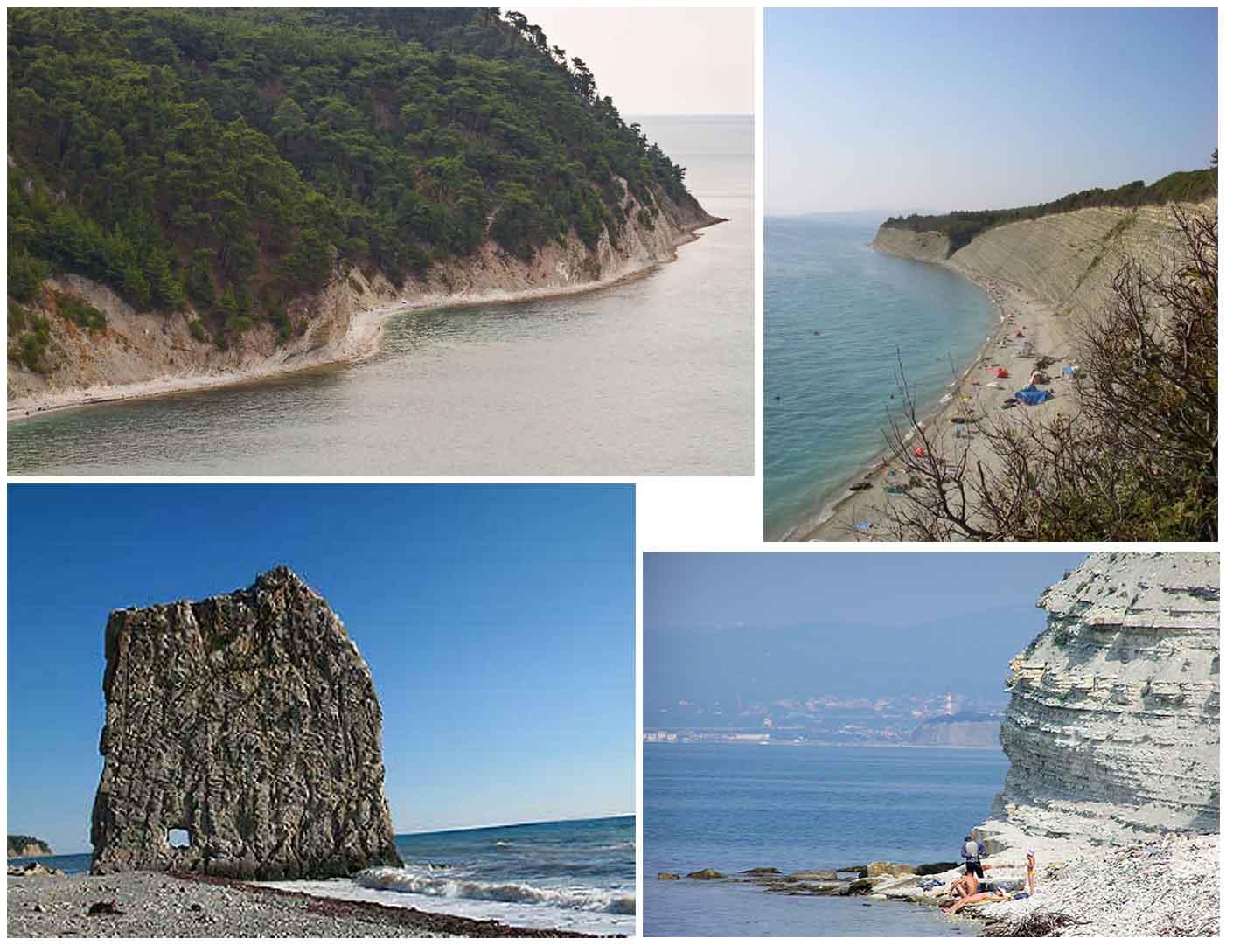 Фото диких пляжей краснодарского края
