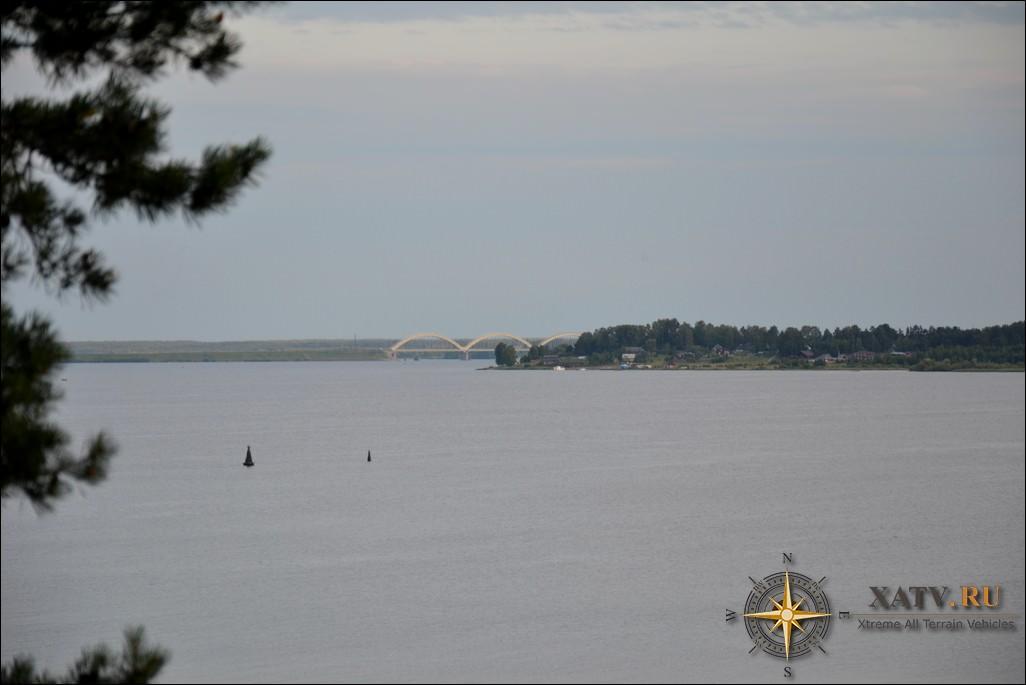 Фото Рыбинского водохранилища