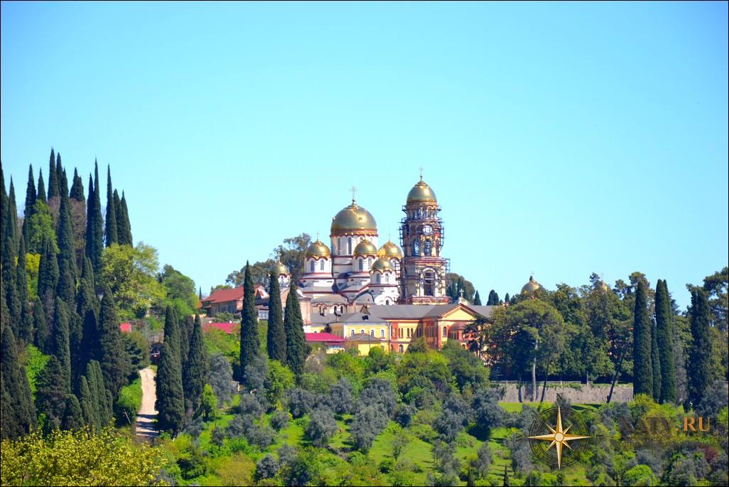 Фотоотчет Новый Афон. Абхазия