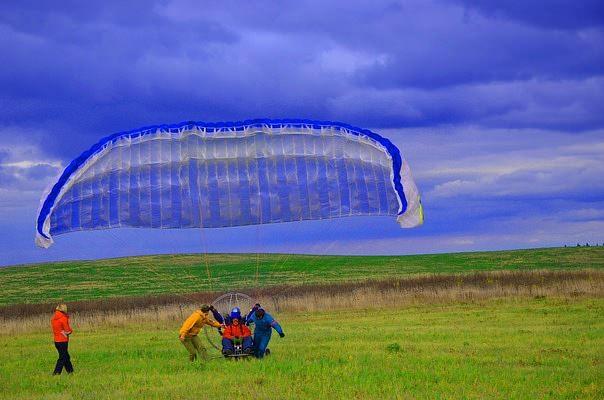 Полет на параплане, Пермь