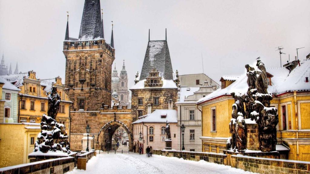 Рождественская Прага.