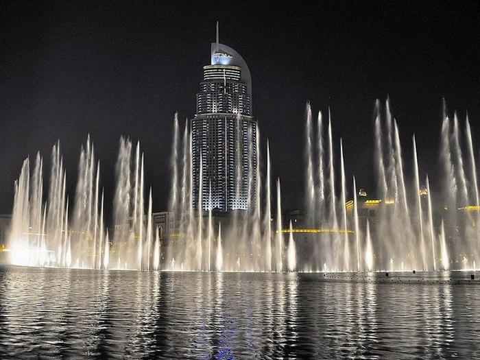 Дубаи - город-сказка, город-мечта...