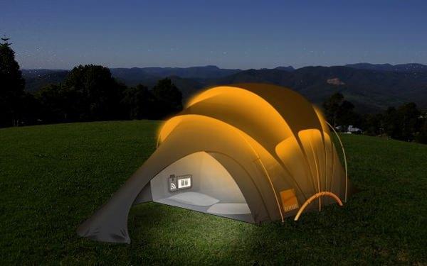 Концепт туристической палатки от Orange