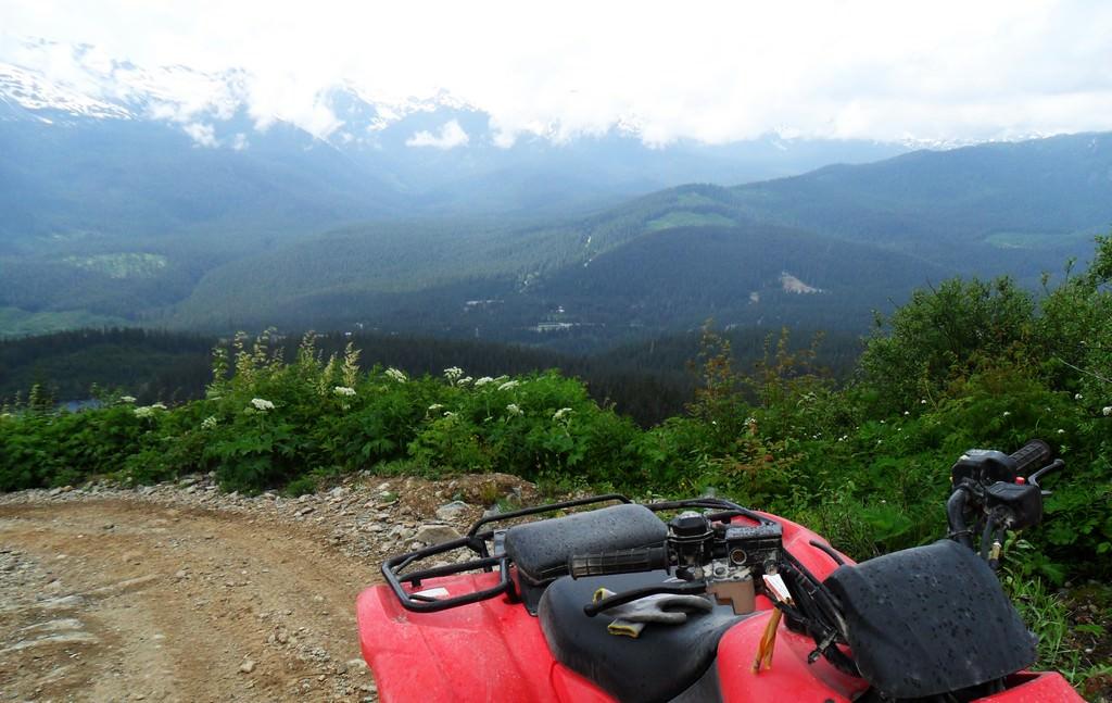 На квадроциклах по горной Абхазии.