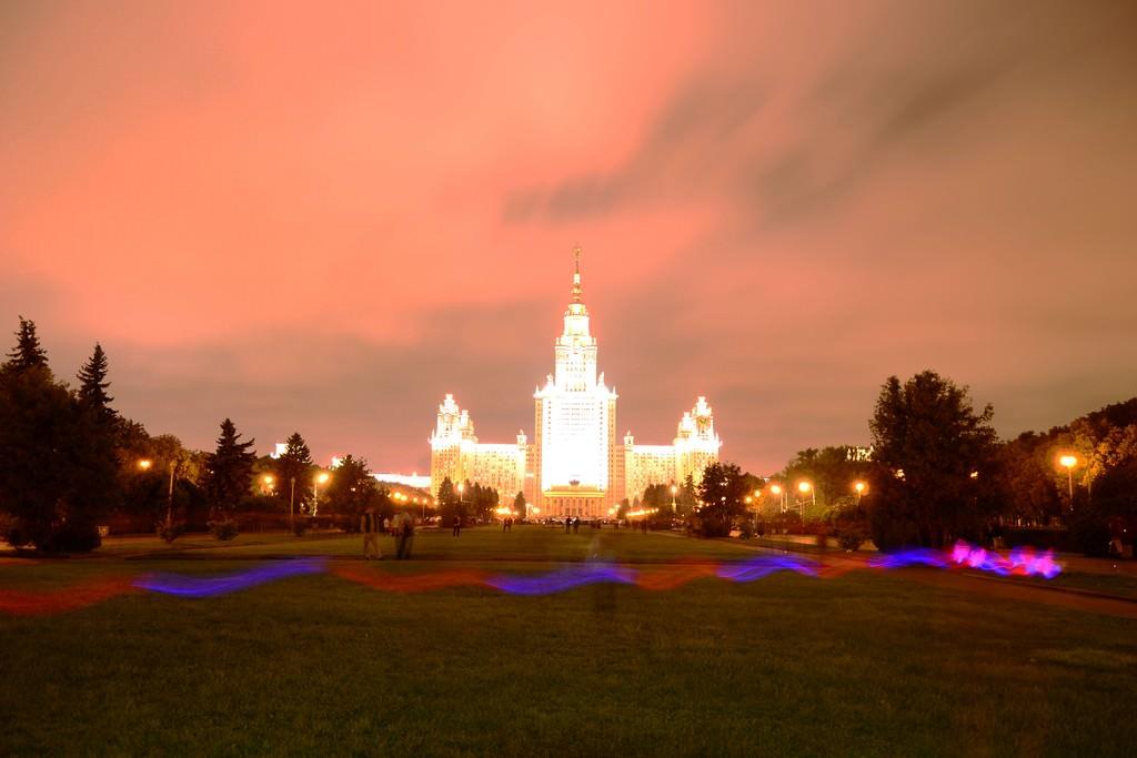 Салют на День города Москвы 2013.