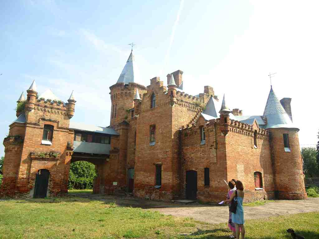 Усадьба Попова - замок-музей Запорожья