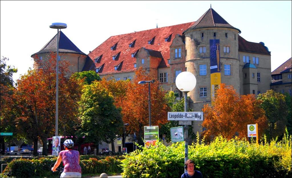 Германия. Старый замок в Штутгарте.