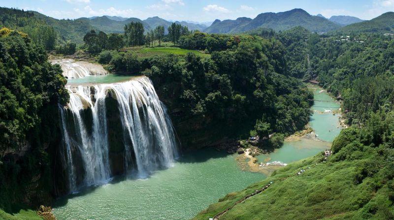 Водопад Хуангошу. Китай.
