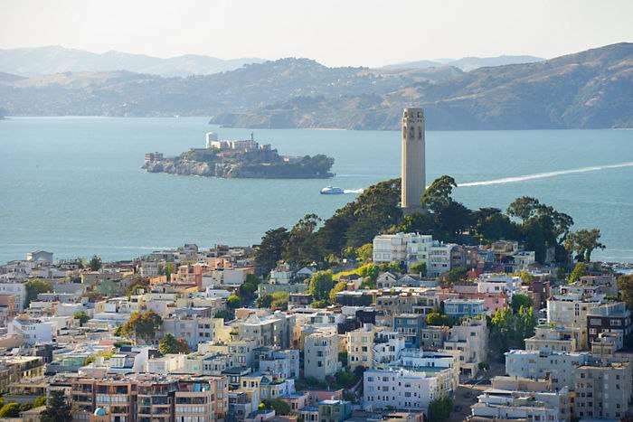 Самый необычный и красивый город Сан-Франциско!