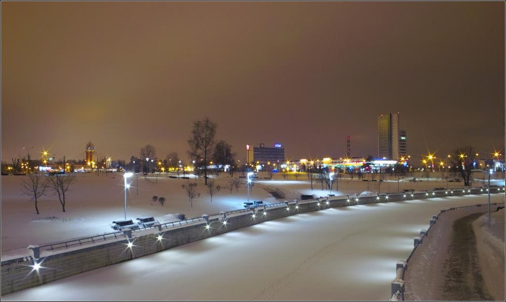 Минск - Новогодние каникулы.