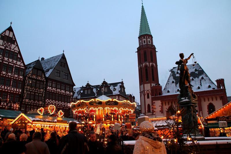 Рождественский базар в Германии.