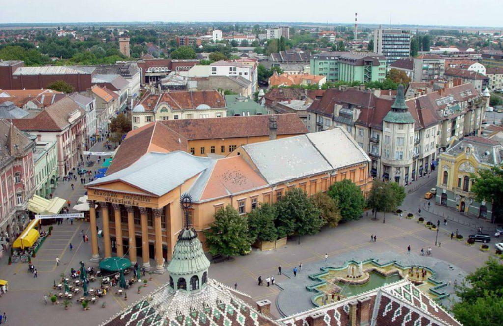 Самый северный город Сербии Суботица