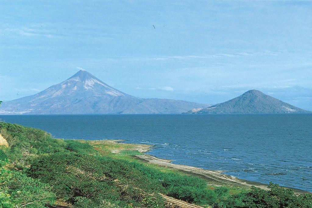Озеро Никарагуа в Центральной Америке