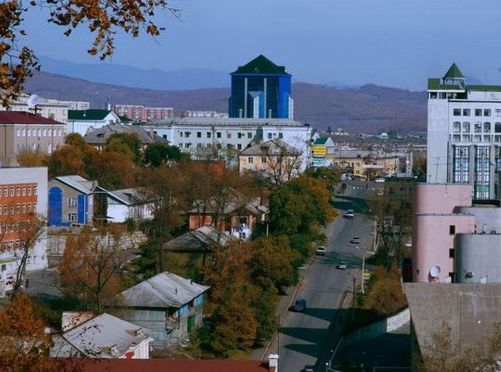 Фото города Находка