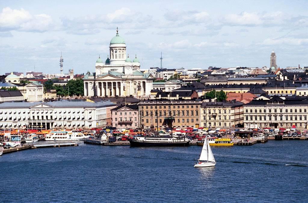 Путешествие на машине в Хельсинки