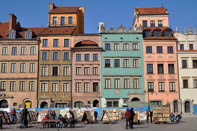 Достопримечательности Варшавы с фотографиями