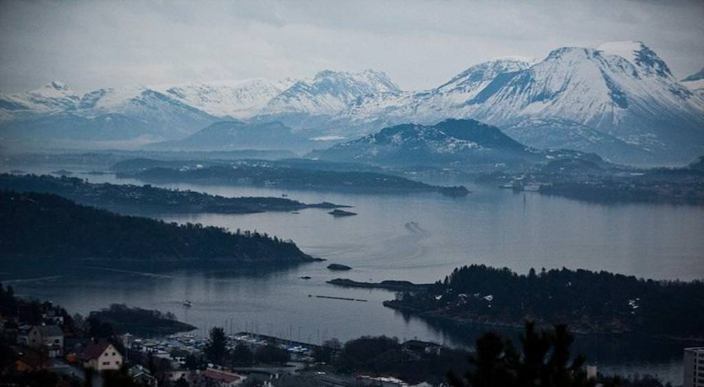 Олесунн, жемчужина Норвегии
