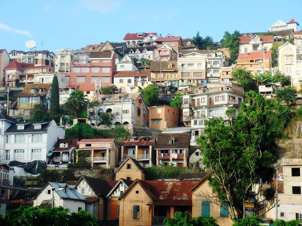 Антананариву, столица Мадагаскара