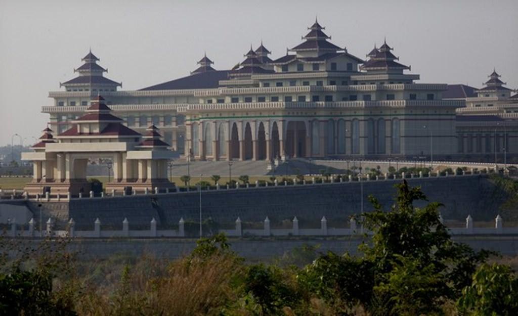 Нейпьидо, новая столица Мьянмы