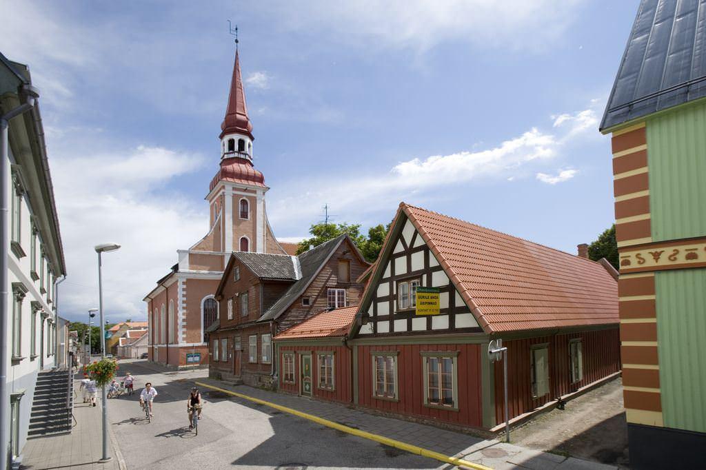 Пярну, главный курорт Эстонии