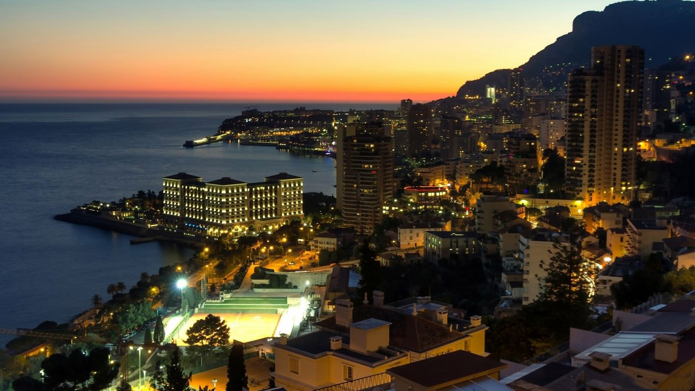 Монте Карло, город миллионеров