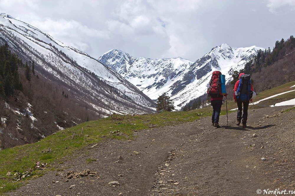 Поход по Кавказским горам