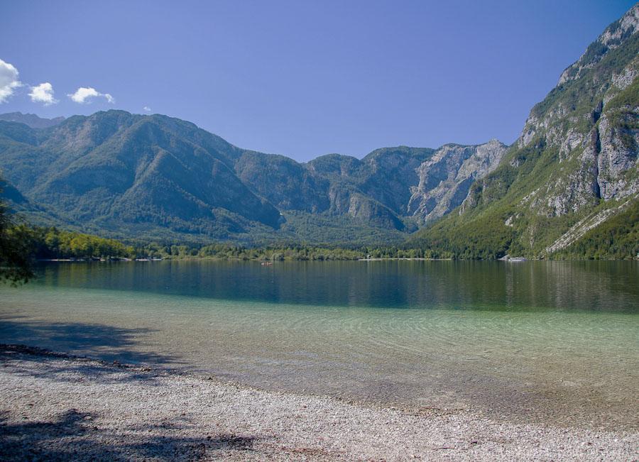 Три дня отдыха на озере Бохинь. Словения