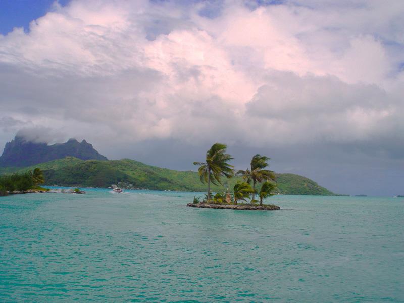 Поездка в отпуск на Таити