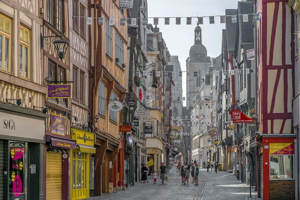 Руан, Нормандия