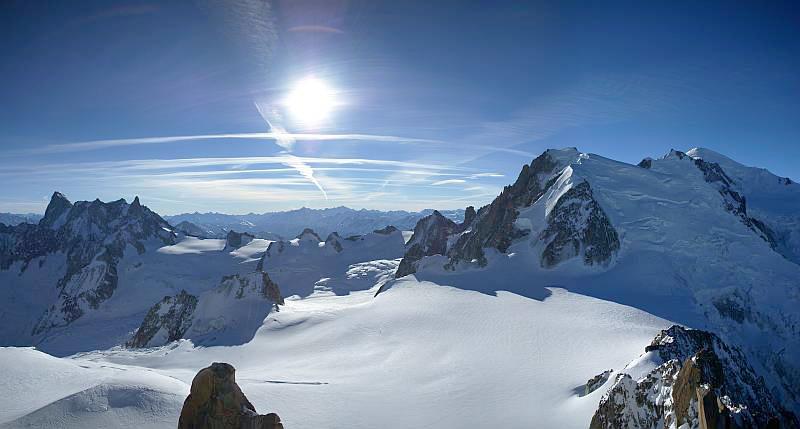 Катание на лыжах в Шамони