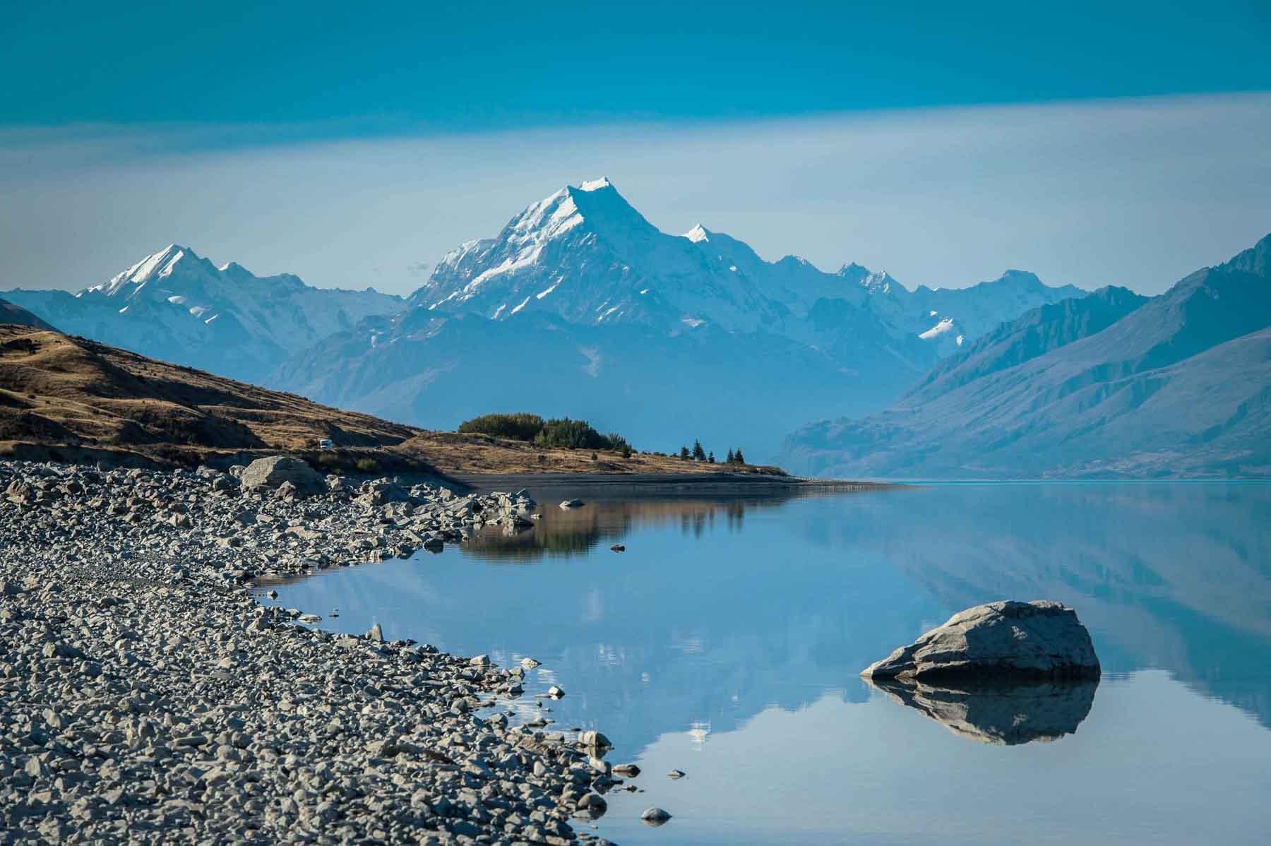 Ледник Франца-Иосифа. Новая Зеландия