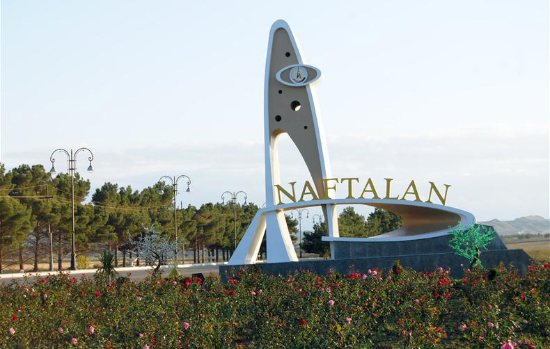 Оздоровление в Нафталане, Азербайджан