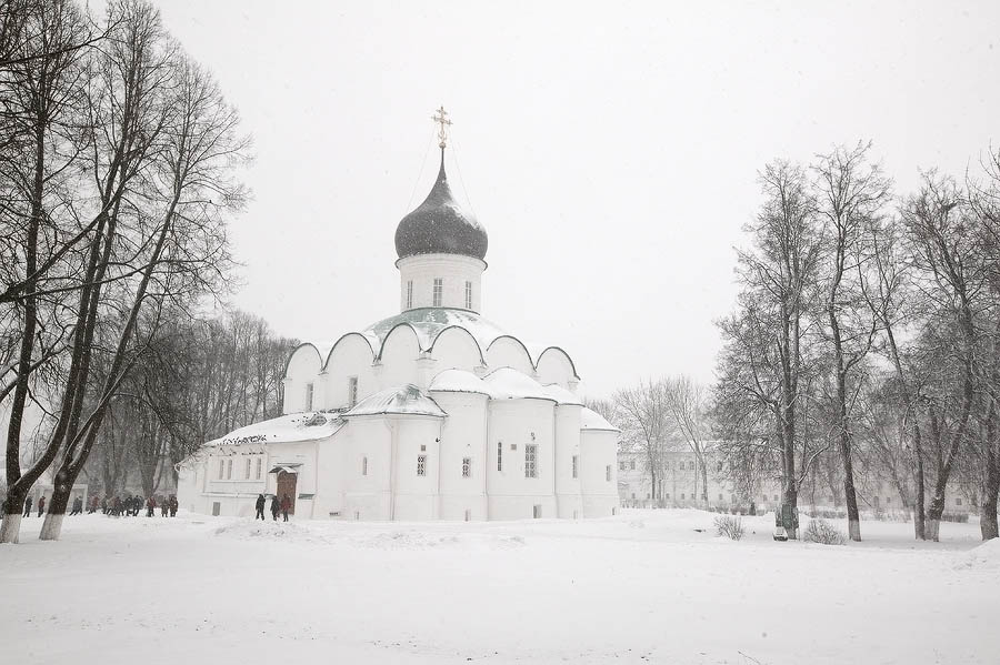Фотоотчет о поезке в Александровский кремль