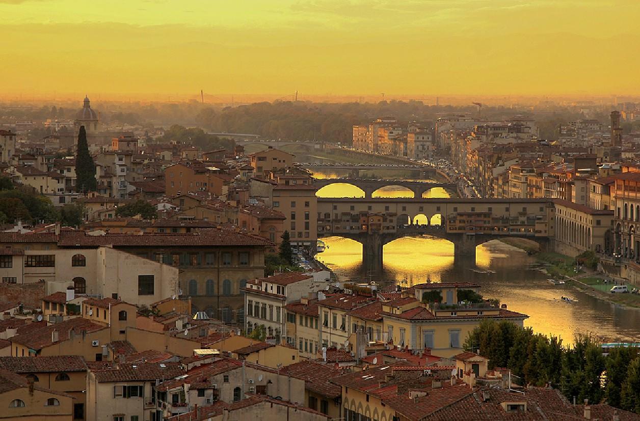 Флоренция – город с запахом цветов