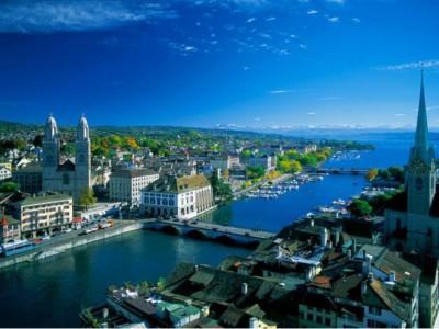 Старинный город часов - Цюрих