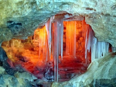 Фото Кунгурской ледяной пещеры