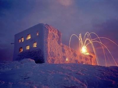 Новый год на горе Пип Иван в Карпатах