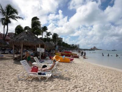 Отпуск на острове Аруба в Карибском море
